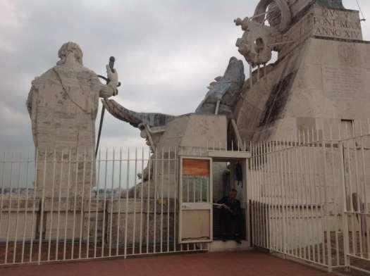 St Peter's dome - Vatican_tough jobs