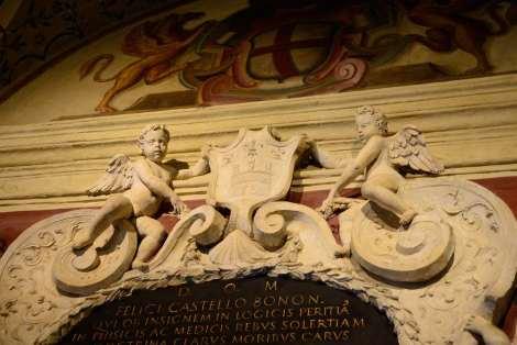 Visit Bologna_Entrance of Archiginnasio