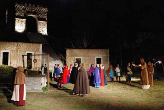 Nativity scenes_Italy_Greccio Living Nativity