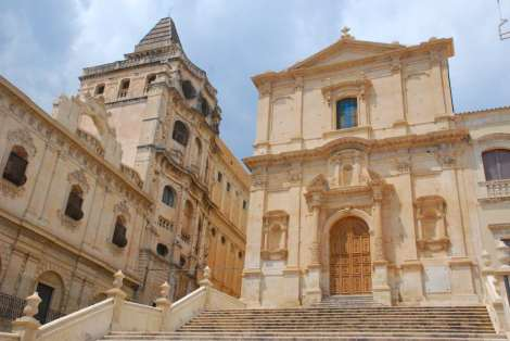 Noto Sicily - church