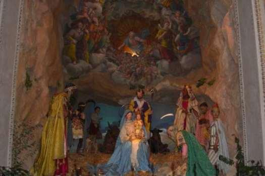 Nativity scenes_Italy_Nativity scene in Santa Maria in Aracoeli