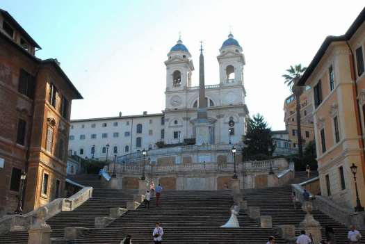 Rome in 5 days_the Spanish Steps at dawn