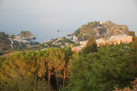 Taormina in one day - view from the cable car
