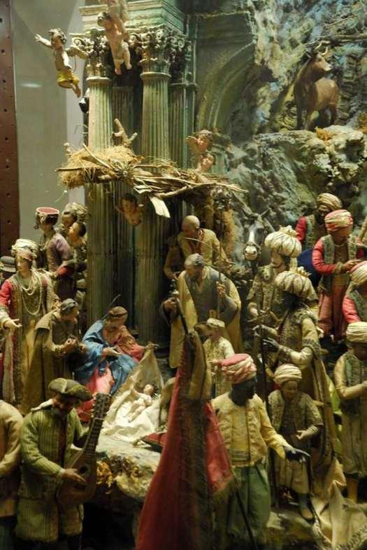 Naples Certosa di San Martino_Nativity Scenes Museum