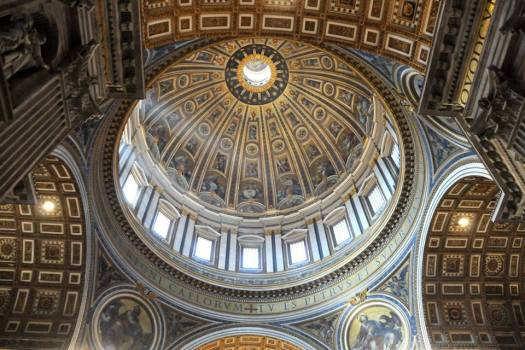 Rome in 5 days_St Peter's dome insight