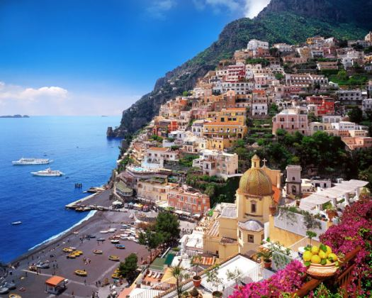 Amalfi coast Italy_Positano_01