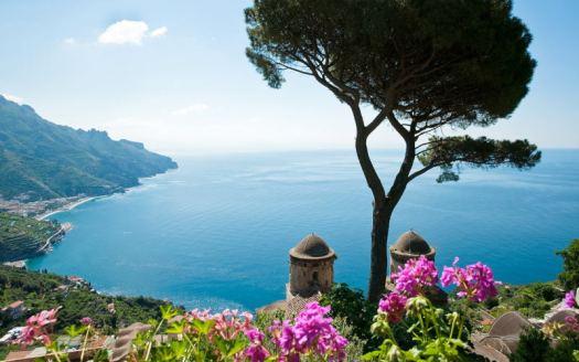 Amalfi coast Italy_Ravello_Villa rufolo