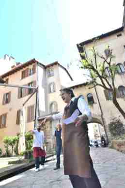 Bergamo Italy in one day - via Gombito