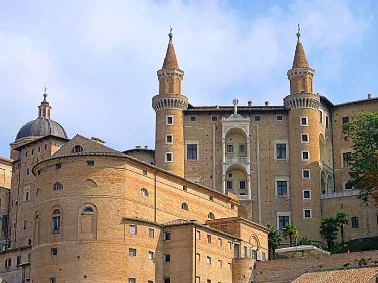 Italy Unesco Sites_Urbino_Palazzo_Ducale