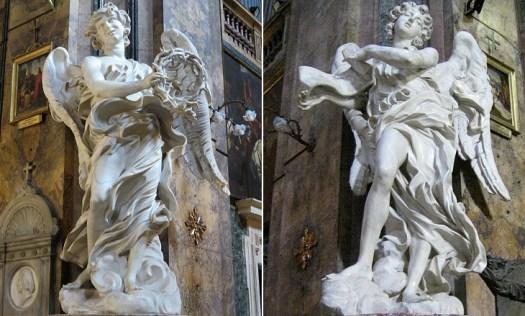 Visit Castel Sant'Angelo - Bernini's angels, Santa Maria delle Fratte