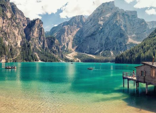Visit the Dolomites - lago di Braies