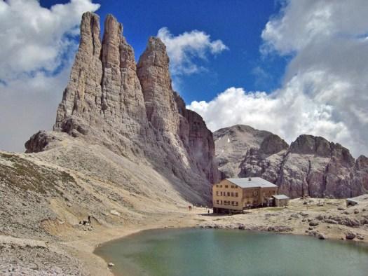 Visit the Dolomites - Cime del Violet
