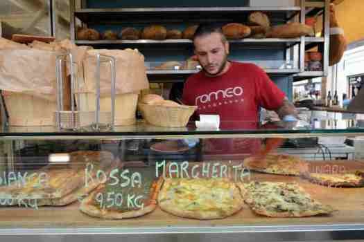 Rome food walking tour - Gourmet Pizza