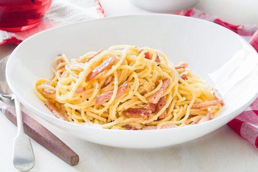 Italian pasta dishes - Spaghetti alla Carbonara
