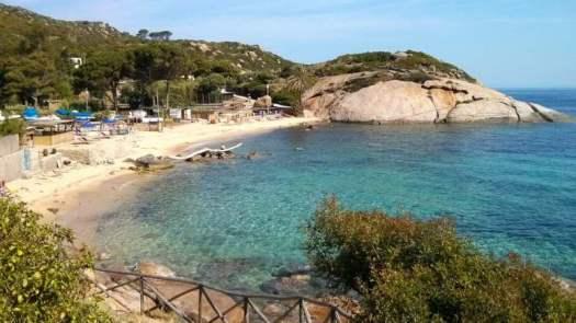 Best beaches of Italy - Spiaggia dell'Arenella, Isola del Giglio