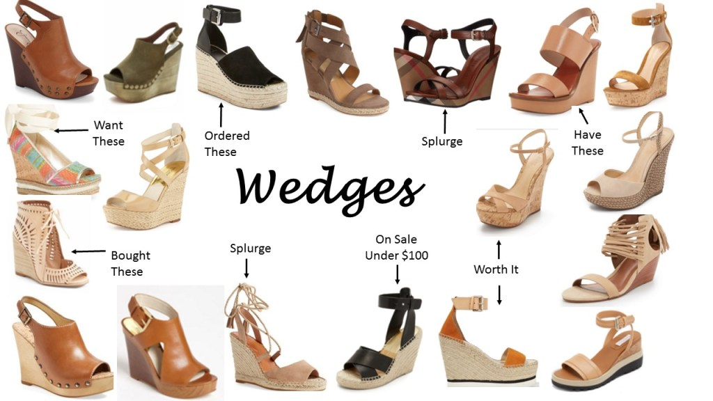 Spring Wedges (Hump Day Happenings)…