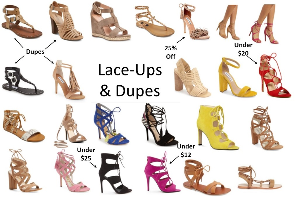 Lace-Ups and Dupes!! (My Style Ladies)…..