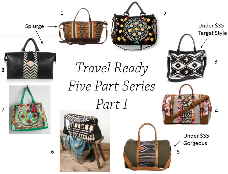 Travel Ready.. (Mood Board Monday)… 5-part series (Part 1)..