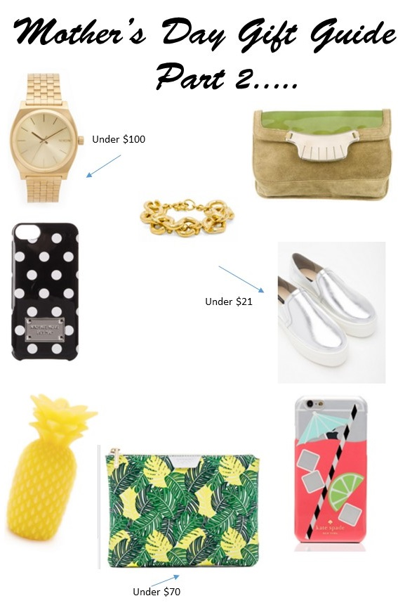 Unique Mother's Day Gift Guide Part 2…….