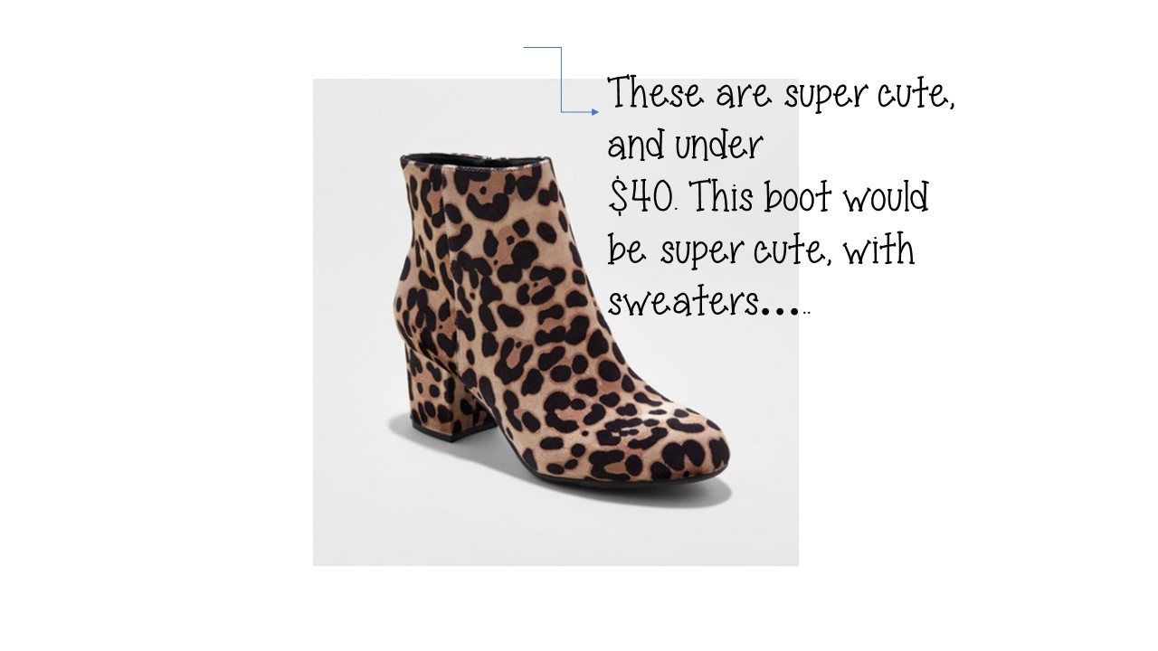 Friday Favorites Starts With Leopard Boots….
