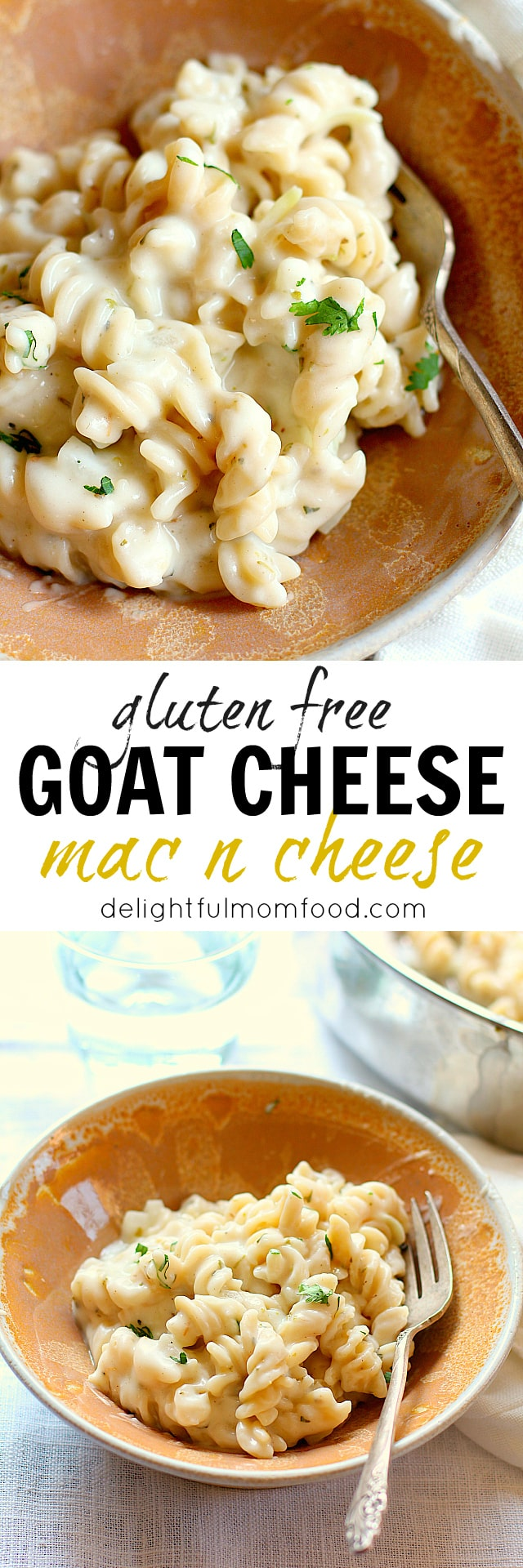 Skillet Macaroni and Cheese Made With Goat Cheese