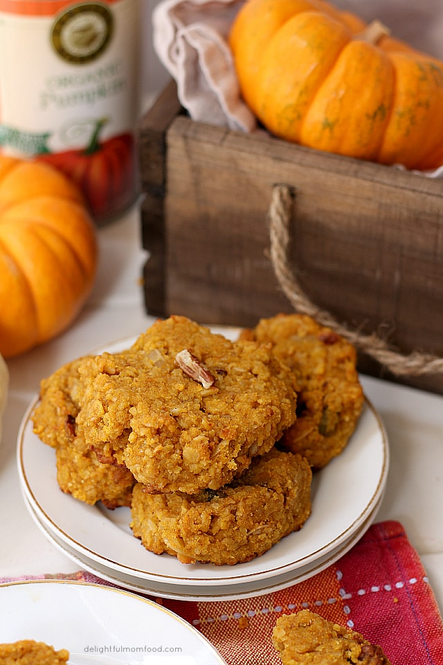 healthy breakfast pumpkin cookie