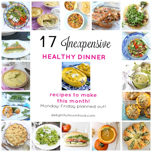 17 Healthy Dinner Recipes for Easy Meal Planning