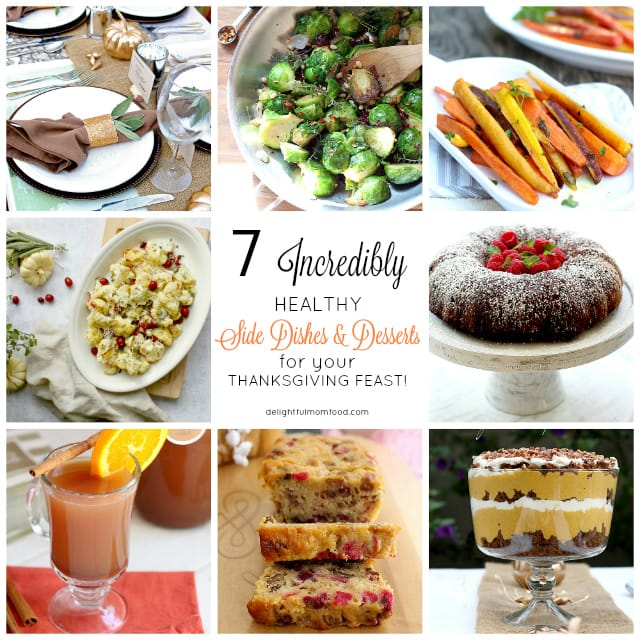Healthy Thanksgiving Desserts And Side Dishes