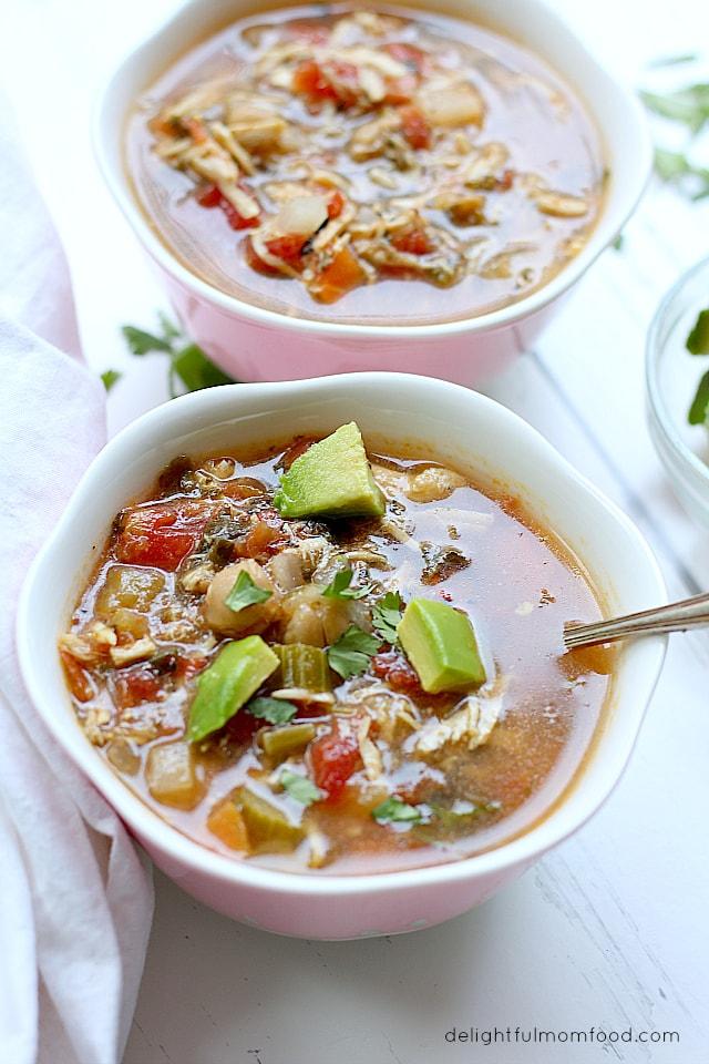 Bowls of Soup