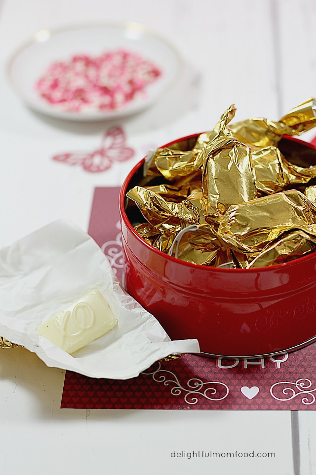 chocolate wrapping