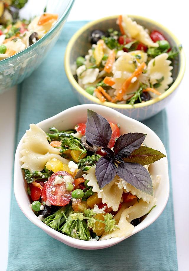 bowtie pasta salad