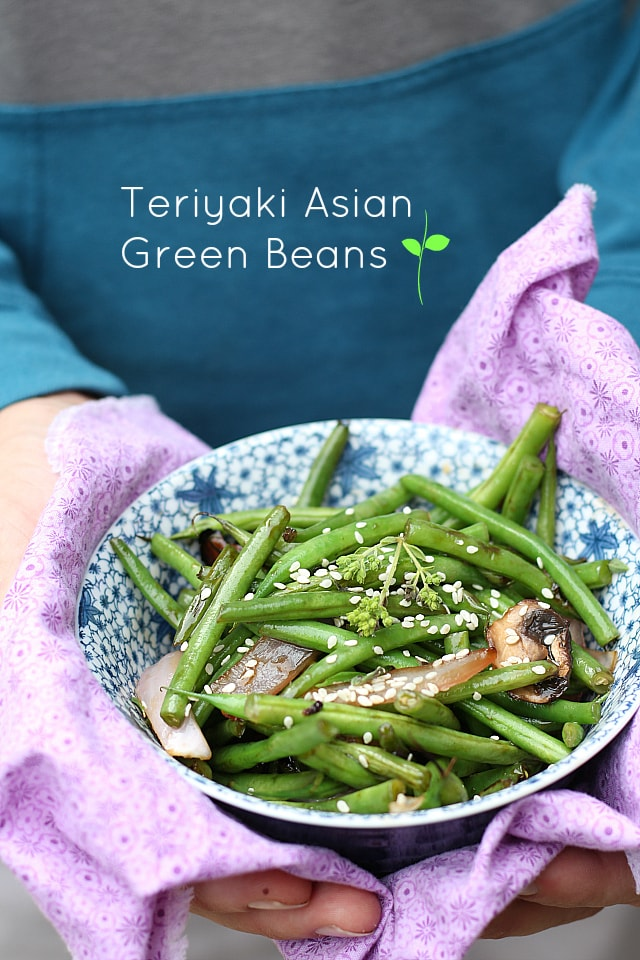 Teriyaki Asian Green Beans