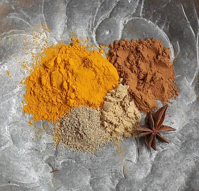 Golden Milk Spices