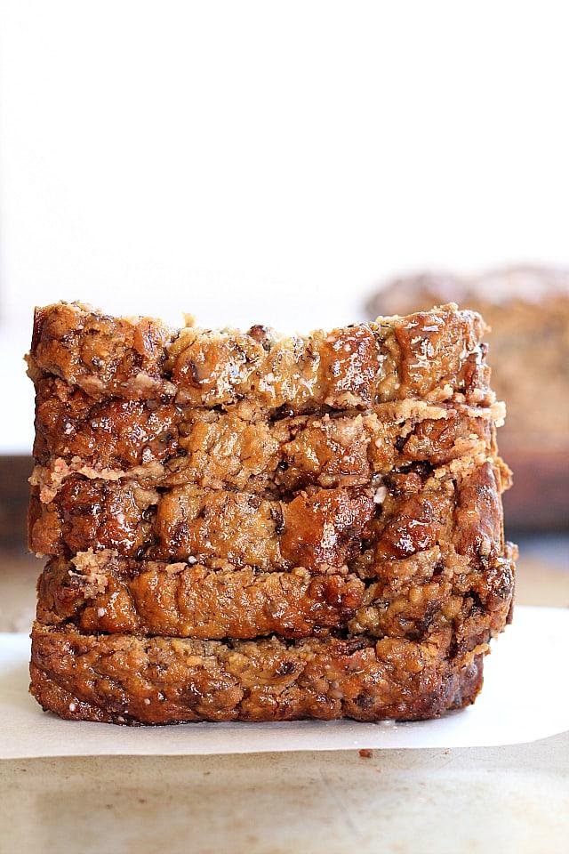 Vegan Banana Nut Bread Loaf