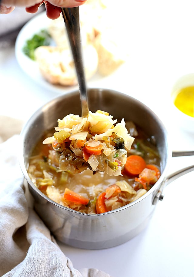 best cabbage soup with carrots