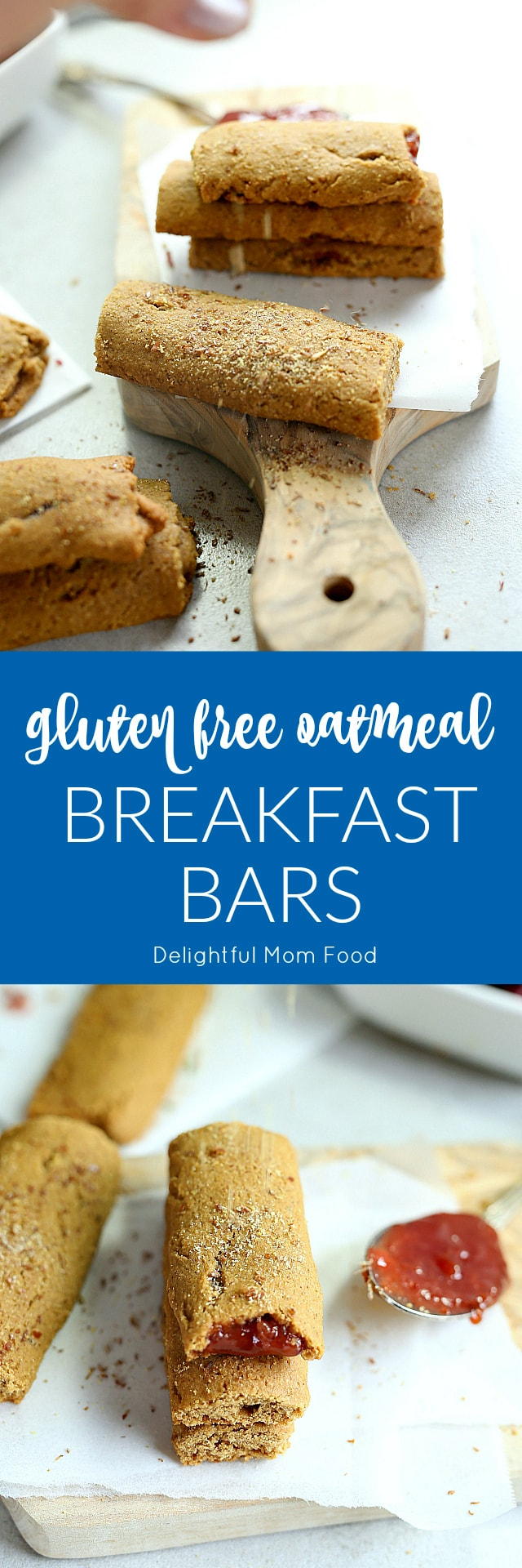 Oatmeal Breakfast Bars   Gluten Free, Dairy Free, Nut Free   Less than 30 minutes!