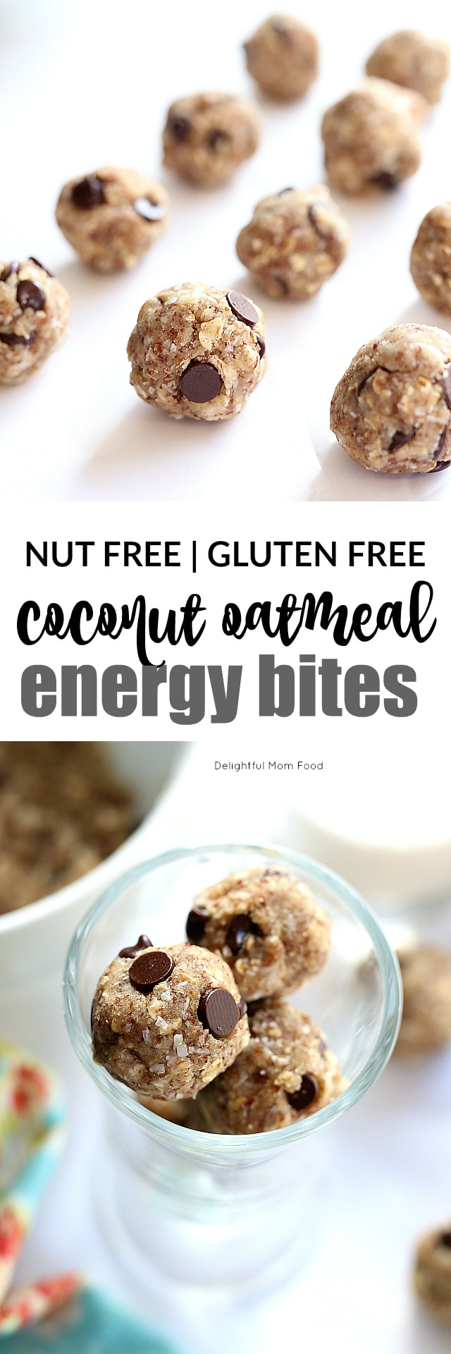 No baking required for these chocolate chip cookie dough balls! Simply melt, mix, chill and roll the little energy bites into the most flavorful guilt-free treats! Made with natural whole grain ingredients!
