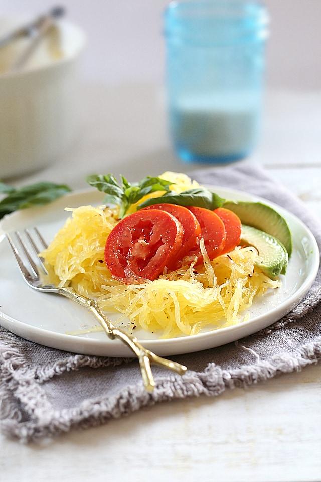 how to cook spaghetti squash recipe