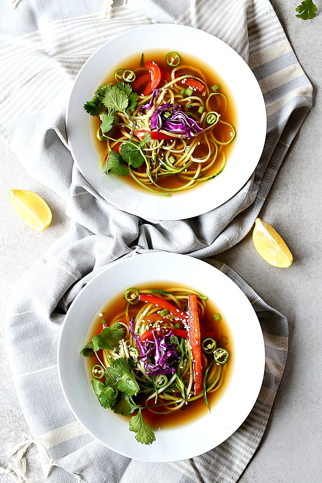 healthy vegetable ginger soup