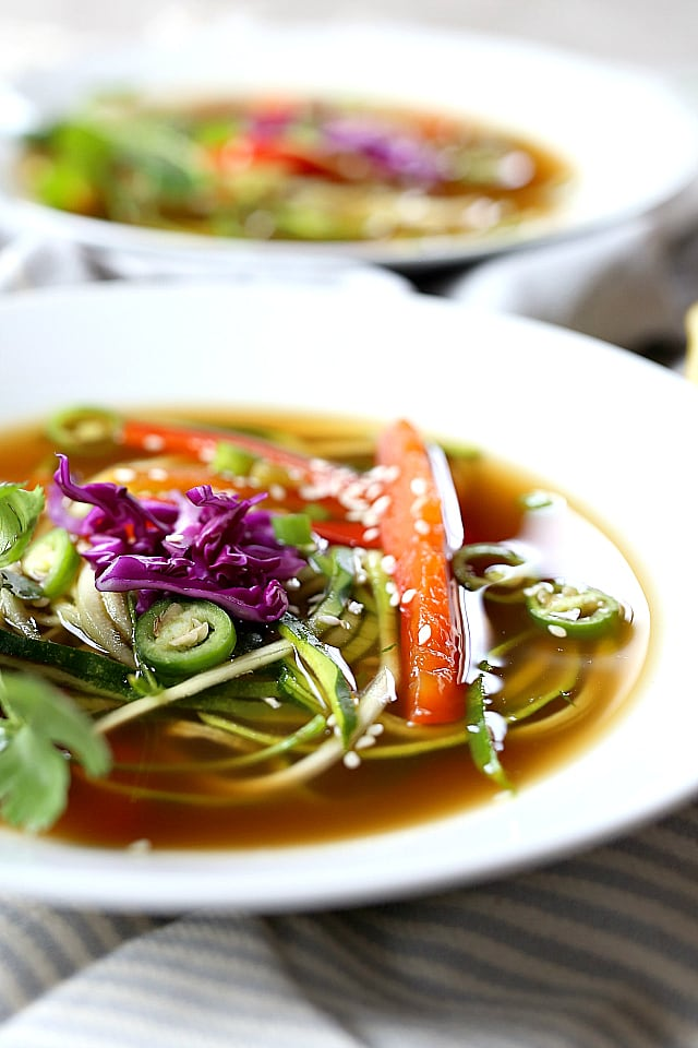 best asian ginger soup broth recipe