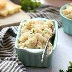 4-Ingredient Healthy Mac and Cheese