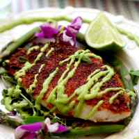 Blackened Rockfish Recipe With Avocado Sauce