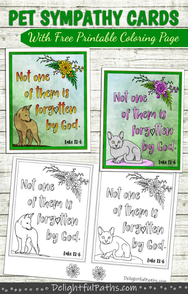 photo about Free Printable Pet Sympathy Cards identify absolutely free printable sympathy playing cards for animals