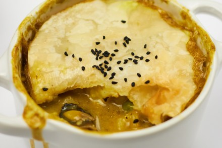 Parsnip and Mushroom Pot Pies