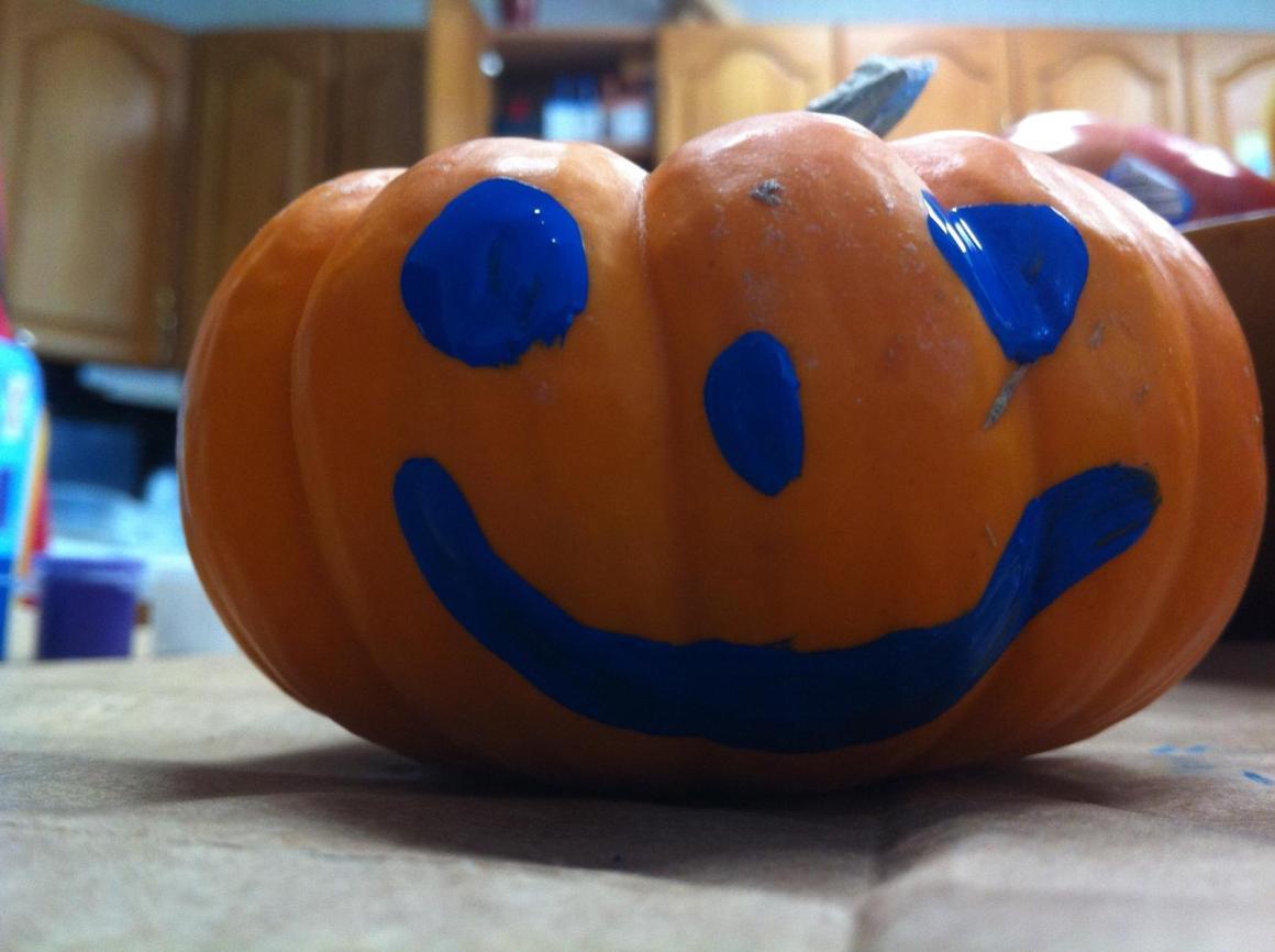 Painted Pumpkin 6