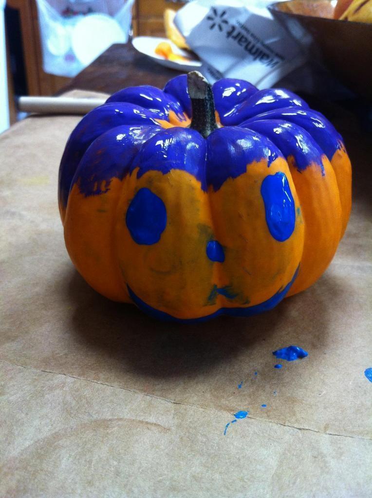 Painted Pumpkin 8EDIT