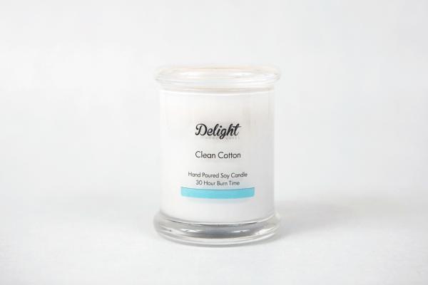 Medium White Jar Soy Candles