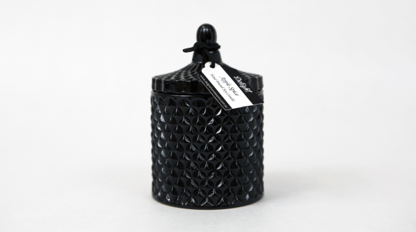 Deluxe Black Jar Soy Candle