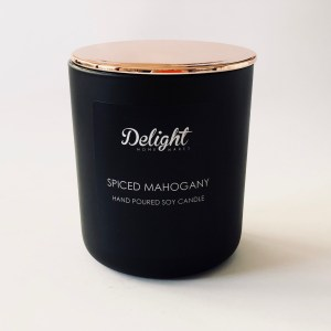 Deluxe Matte Black Soy Candles