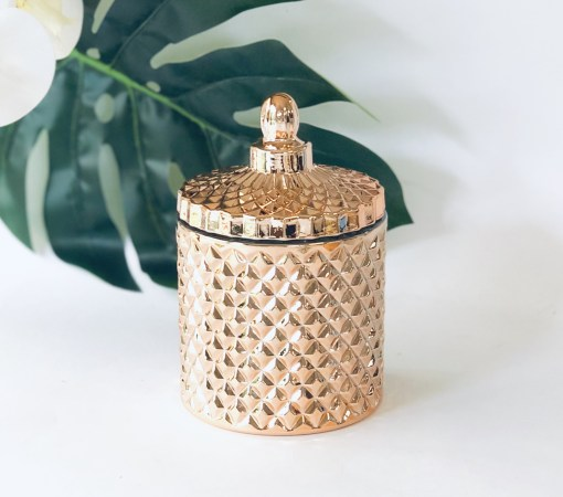 Luxury Rose Gold Soy Candle